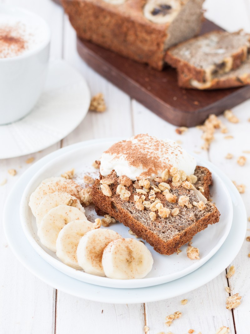 gesundes Bananenbrot zuckerfrei