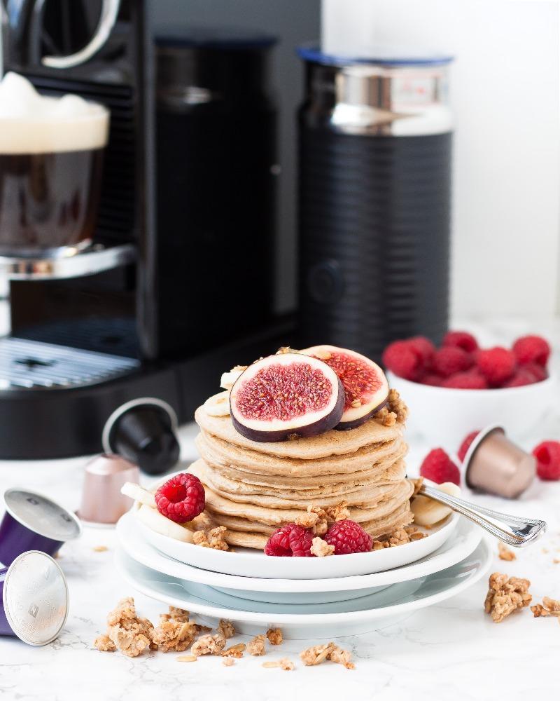 Frühstückspancakes mit Nespresso