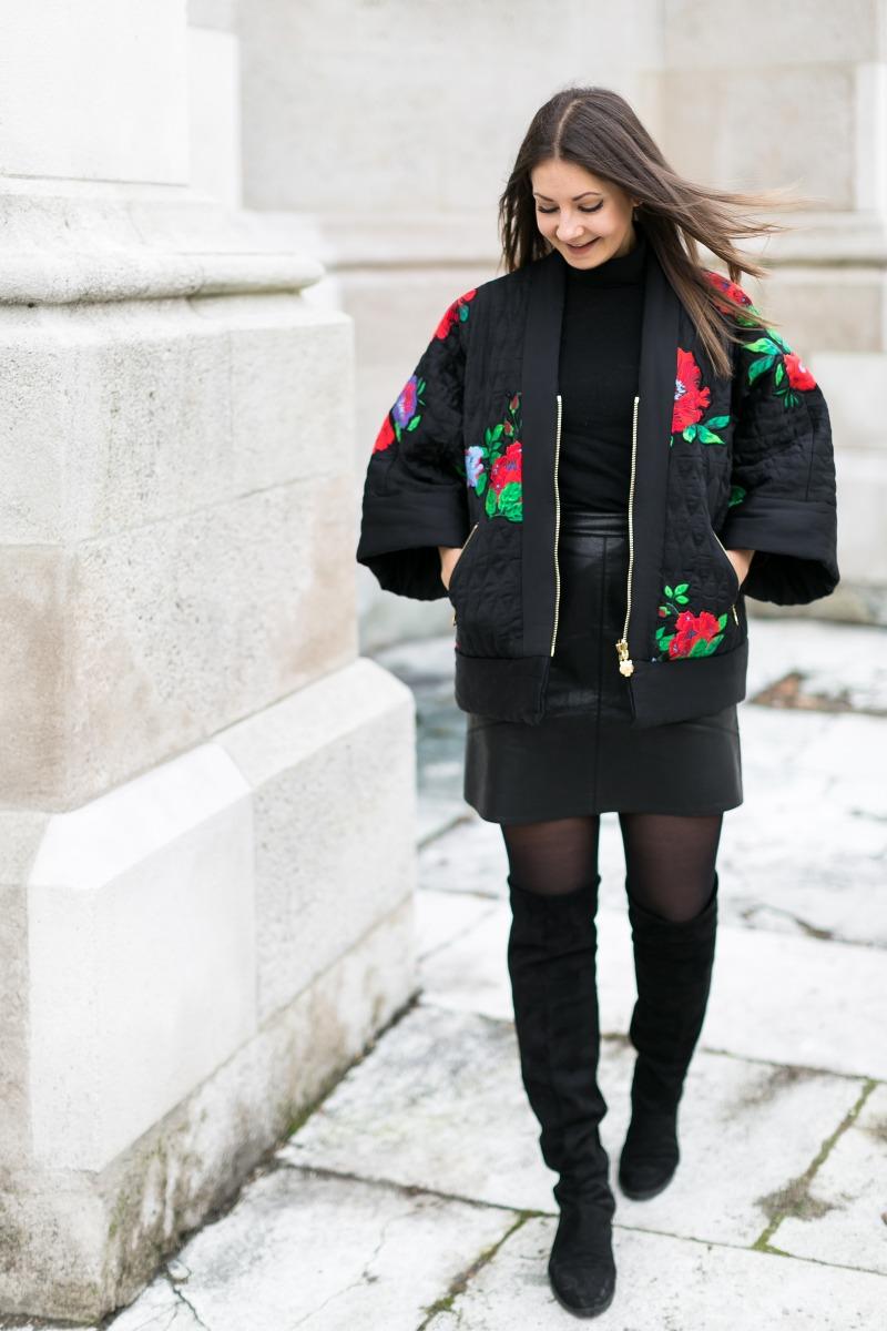 Kenzo x H&M Kimono Outfit Post
