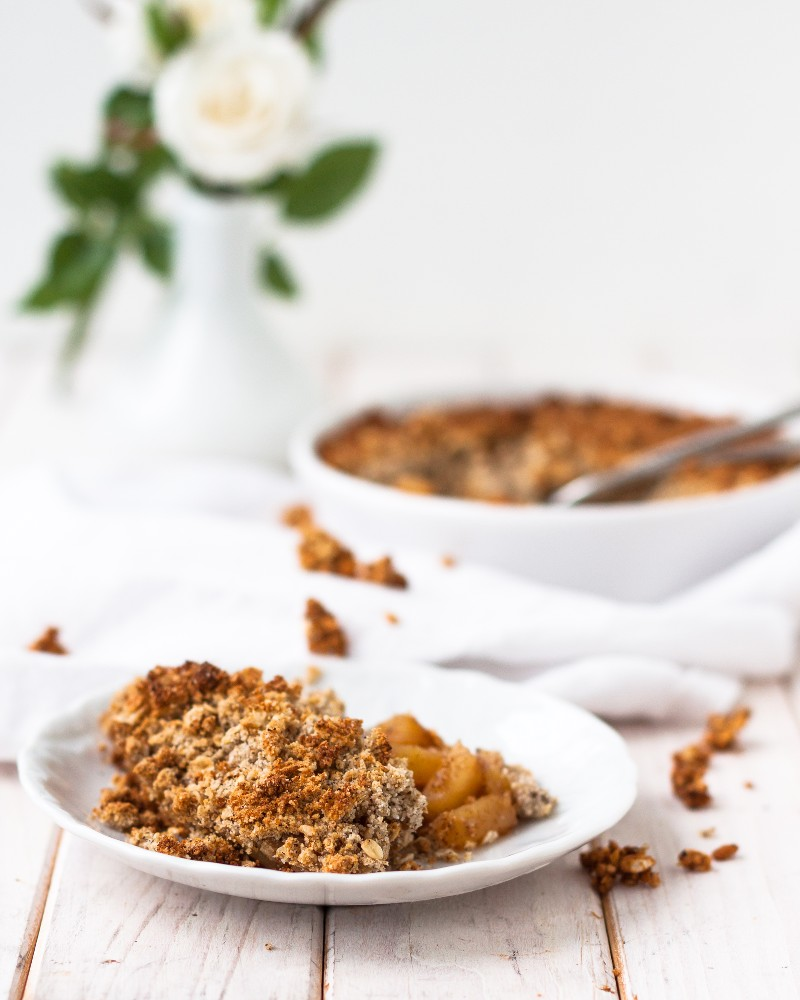 Apfelstreuselkuchen gesund lowfat