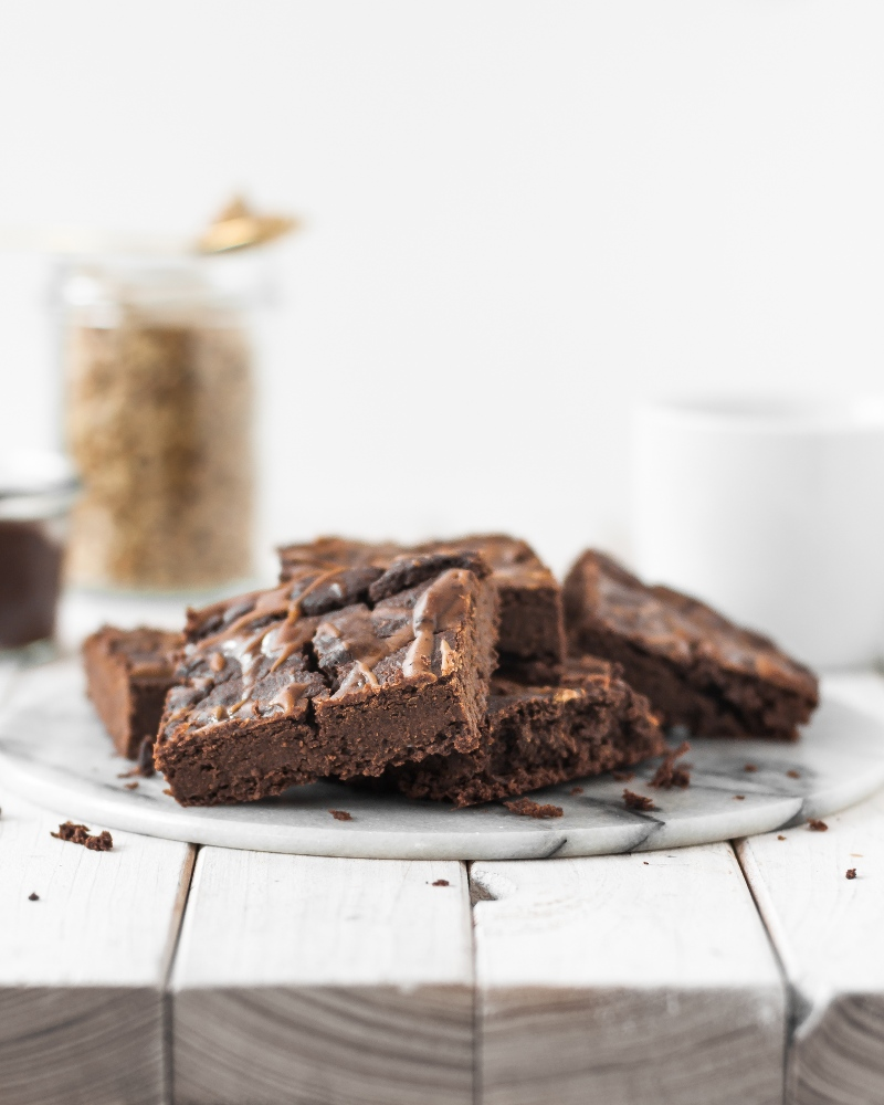 Kichererbsen Brownies