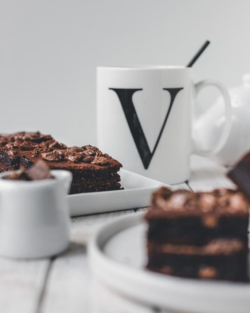 Gesunde Brownies