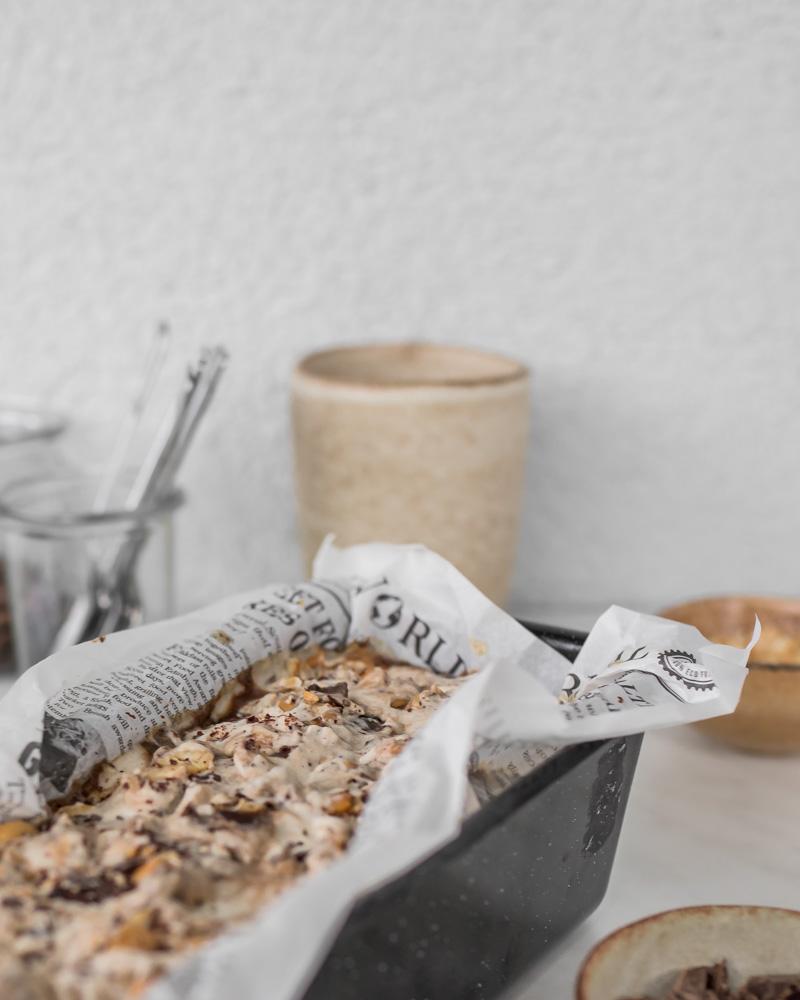 Eiscreme mit Jura Kaffee